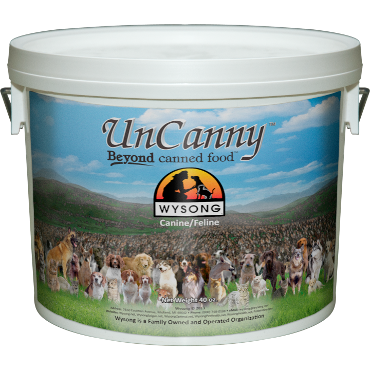 Uncanny Supplement For Raw Dog Cat Food Wysong